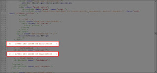 Repérer la balise et ajouter un code XML avant ou après la balise