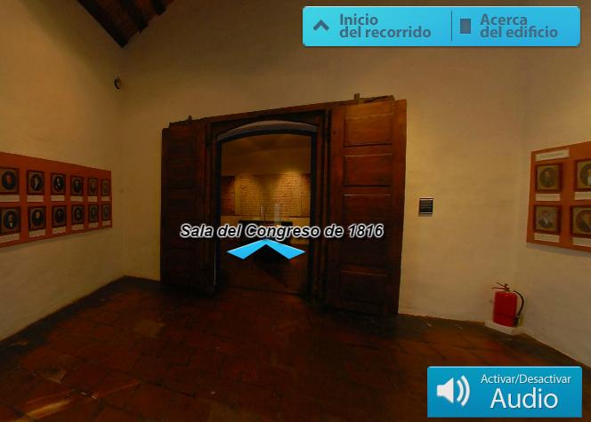 Recorrido virtual por el Museo Casa Histórica de la Independencia