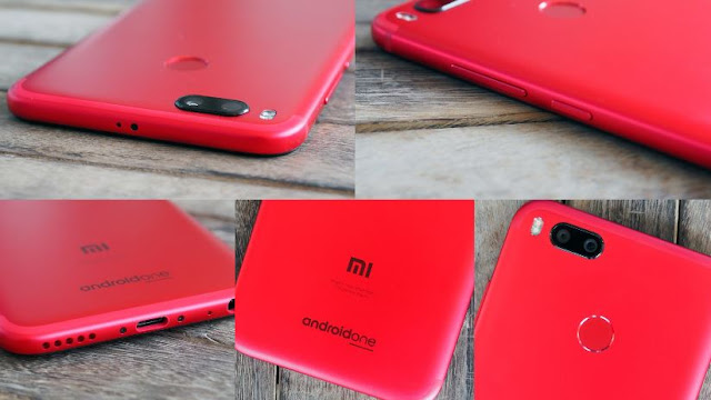 Xiaomi Mi A1 Spesial Red Edition