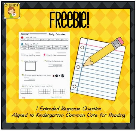 http://www.teacherspayteachers.com/Product/Daily-Calendar-Worksheet-FREEBIE-721222