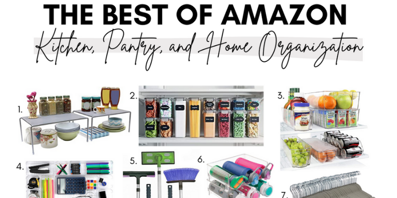 The Best of Amazon: Kitchen, Pantry and Home Organization