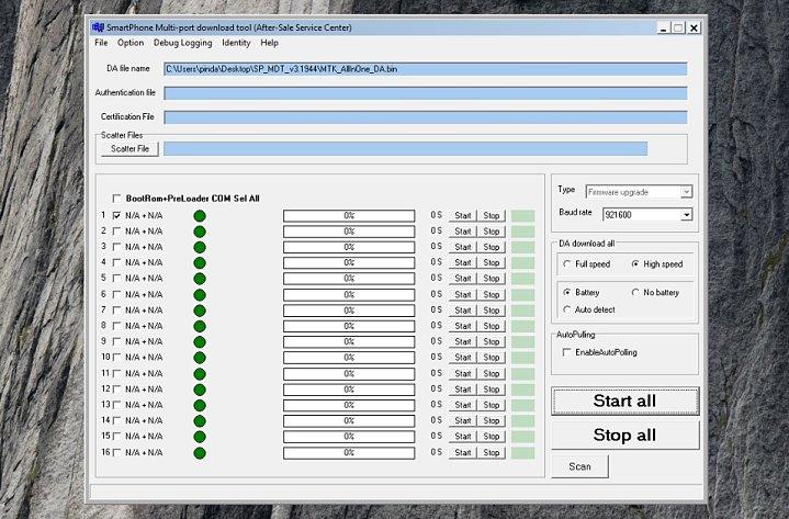 Descargar SP MDT Flash Tool gratis