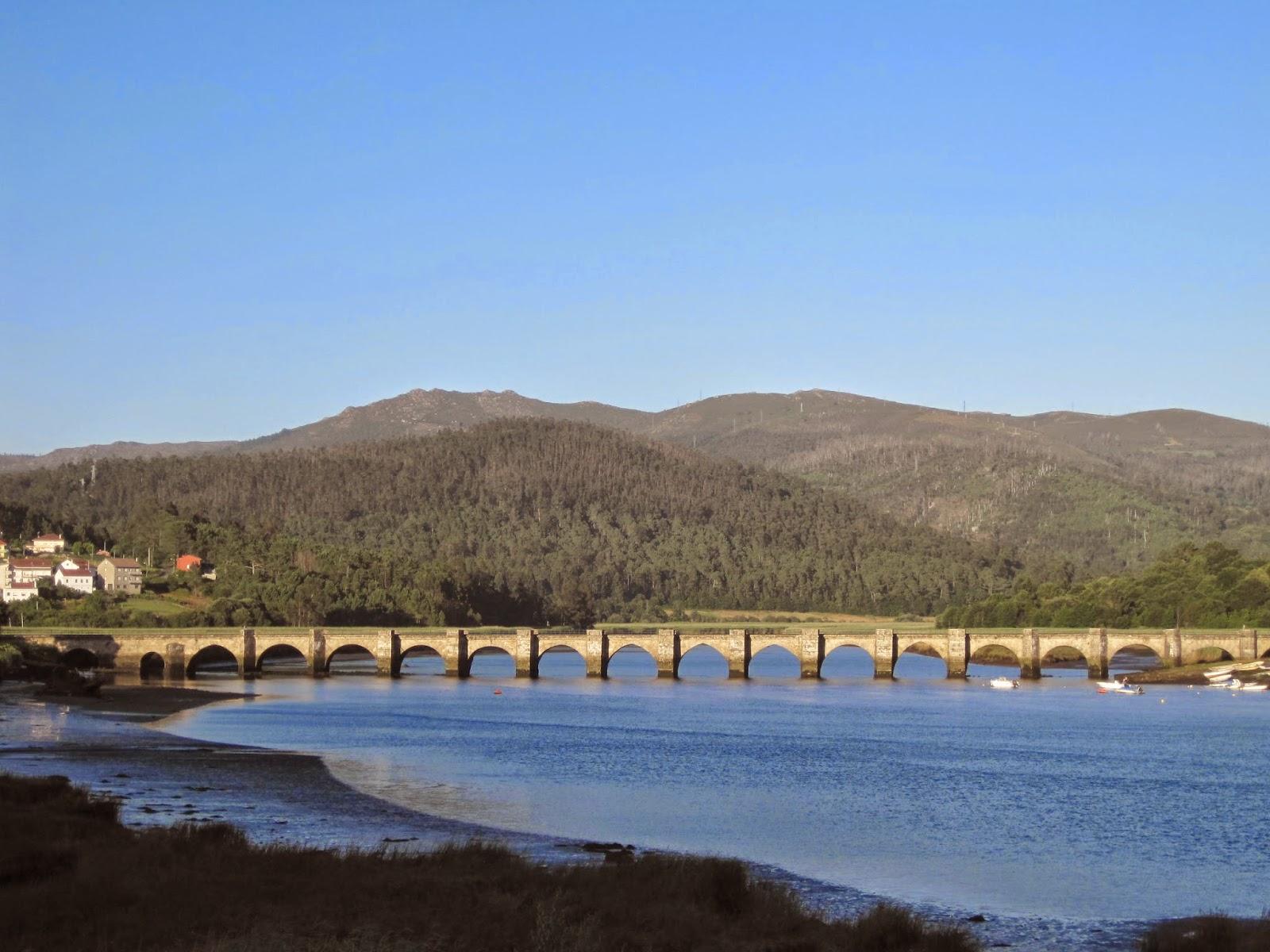 Ponte Nafonso entre Outes y Noia