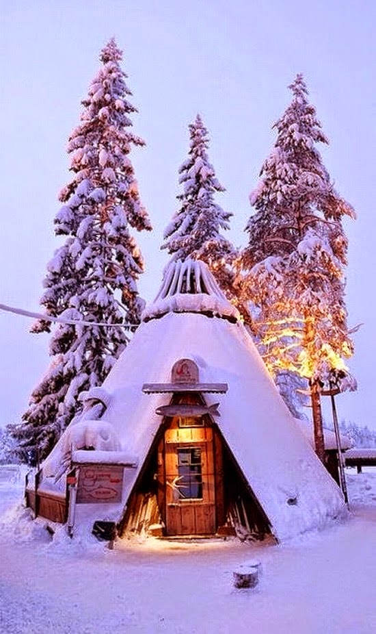 Top 10 Beautiful Cities to Celebrate Christmas | Lapland, Finland