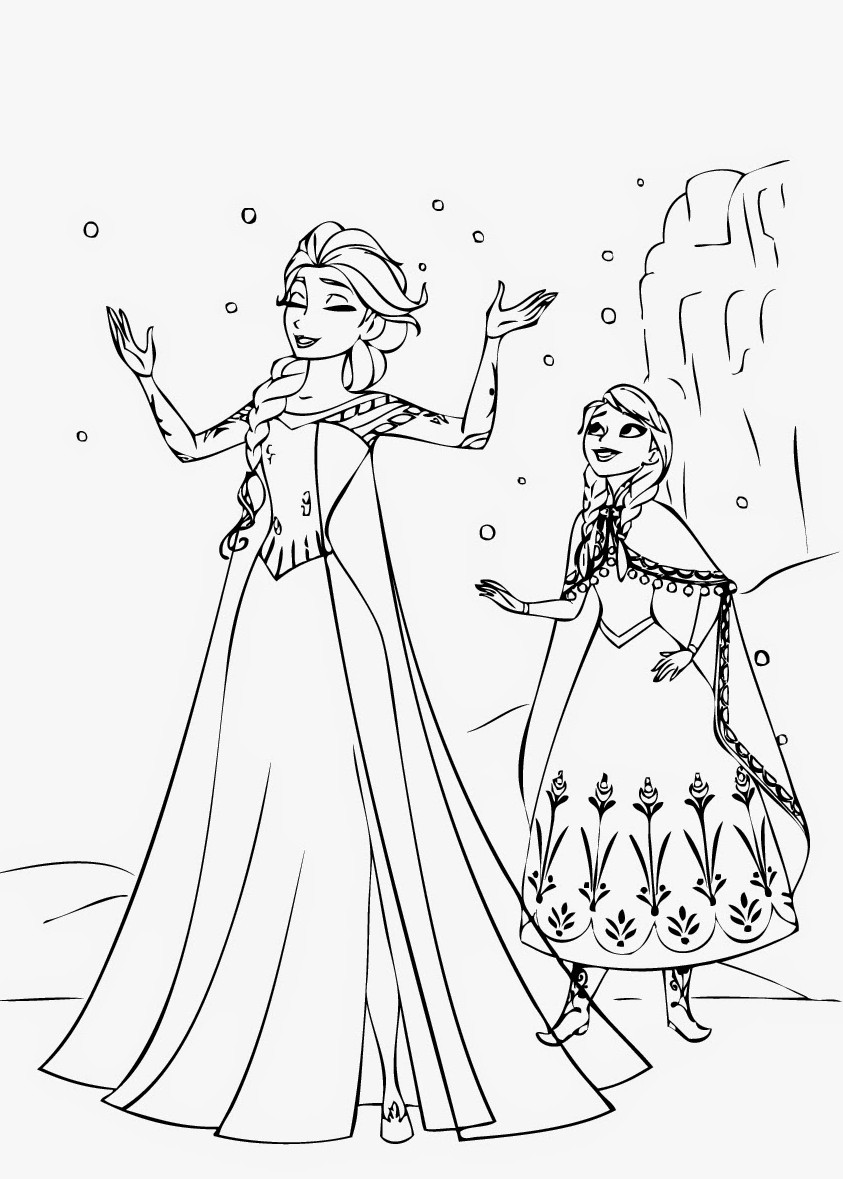 frozen 2 fever coloring pages - photo#10