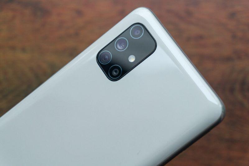 Lensa Kamera Utama Samsung Galaxy M51