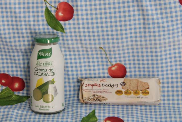 Crema de Calabacín en Cristal Knorr