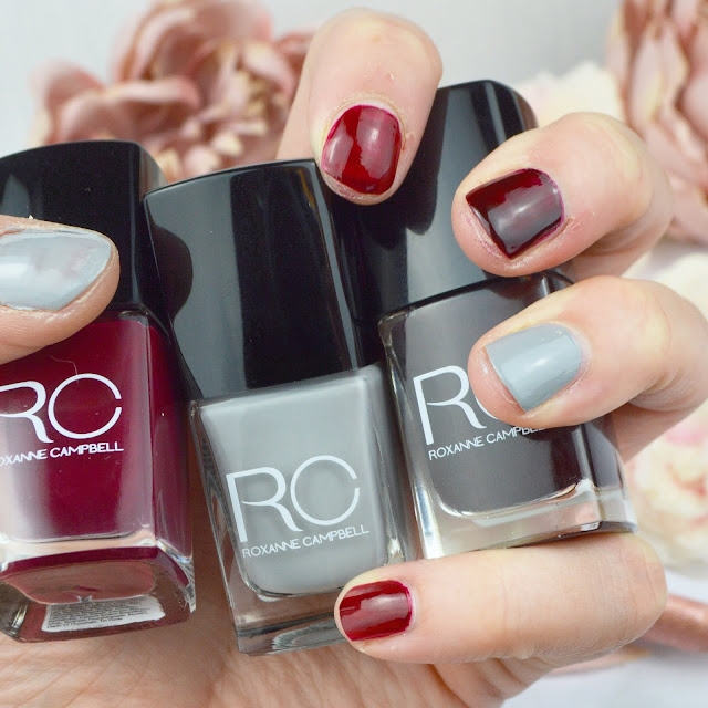 Roxanne Campbell Winter Nails Collection, Lovelaughslipstick Blog