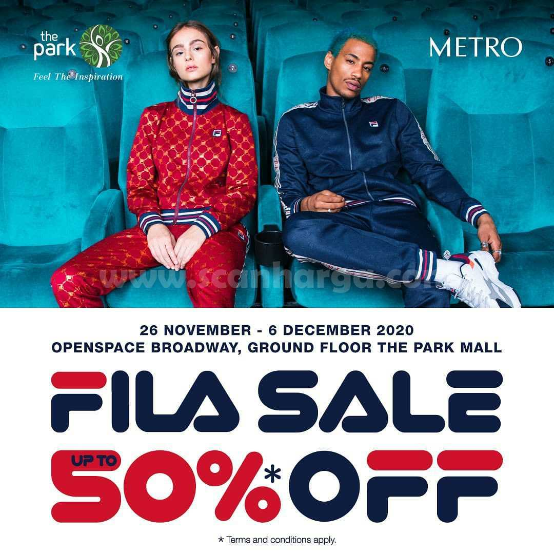 FILA Sale and Spesial Offers Discount up to 50% Off*