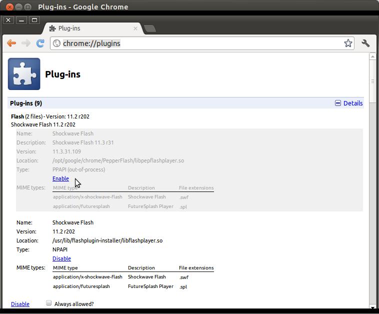 Ubuntu with Wubi: Weird clicking noise in Chrome