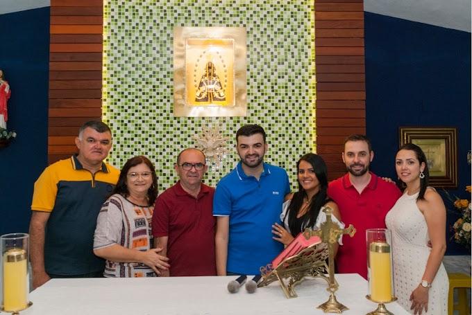 Ronaltty Neri prestigia encerramento da festa de Nossa Senhora Aparecida na comunidade Passagem das Traíras