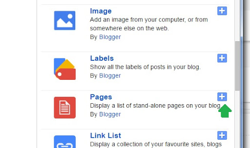 styling blogger navigation menu