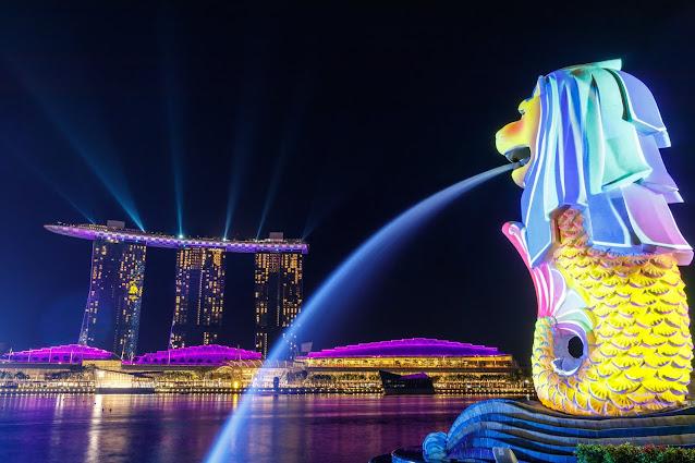Patung Merlion SG