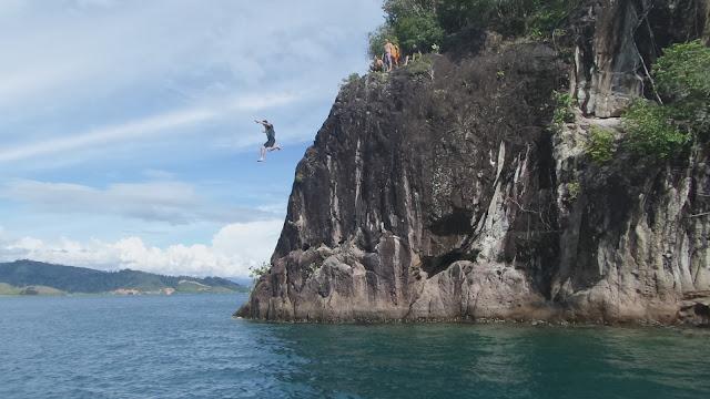 Pulau Sironjong ketek Objek Wisata Sumatera Barat