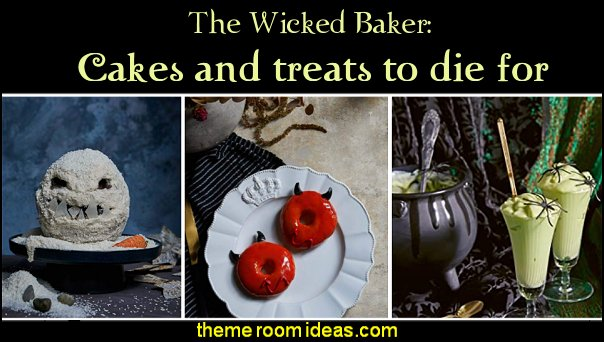 halloween party food The Wicked Baker  Cakes and treats to die for halloween party ideas