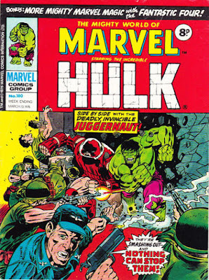 Mighty World of Marvel #180, Hulk and Juggernaut