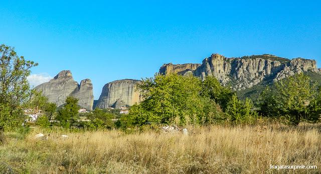 Formações rochosas de Meteora, Grécia