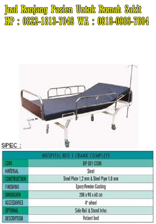 Bed pasien elektrik paramount