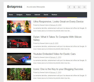 BetaPress Valid AMP Blogger Templates - kanalmu