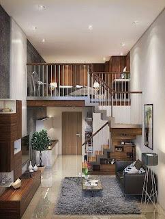 Ide tata ruang untuk rumah yg sempit