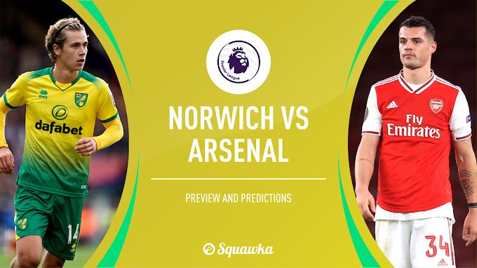 Arsenal Vs Norwich City Preview Team News, Stats & Key Men