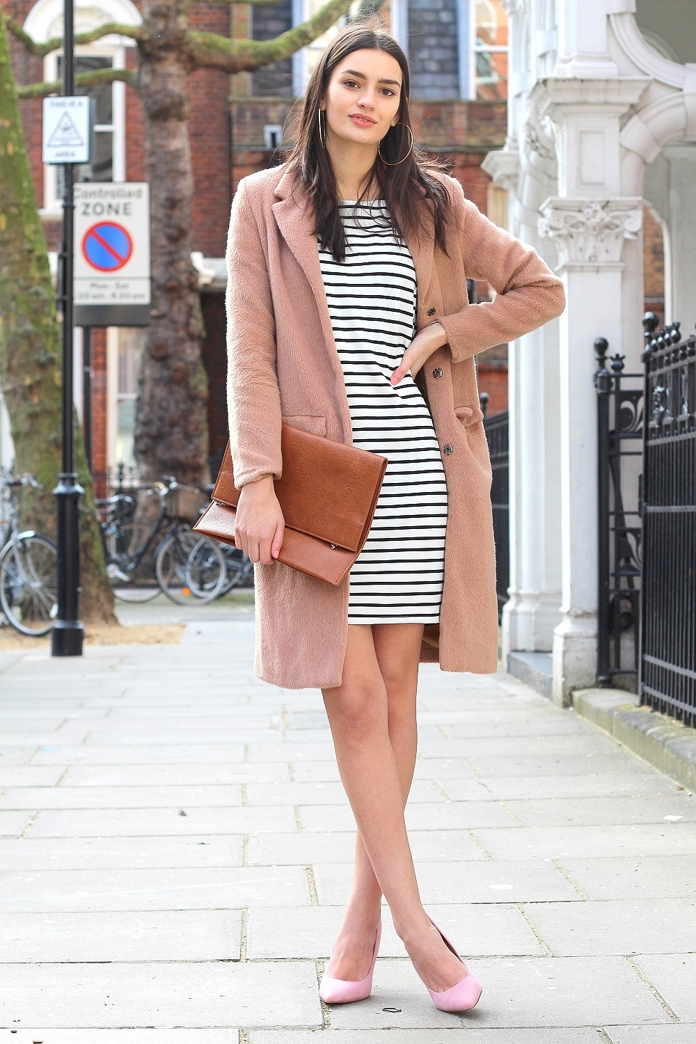 peexo fashion blogger pink