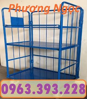Lồng trữ hàng, pallet lưới, lồng trữ hàng sơn tĩnh điện,sọt lưới đựng hàng