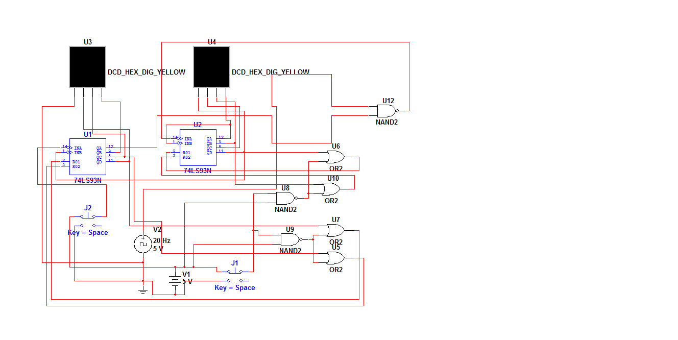 small resolution of 0 59 counter circuit diagram