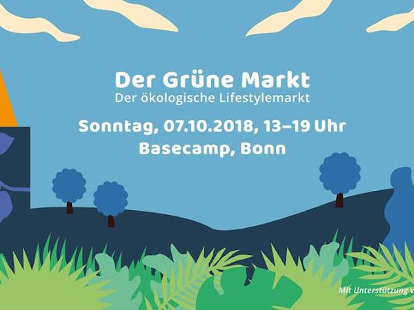 Der Grüne Markt - der ökologische Lifestylemarkt am Sonntag im BaseCamp