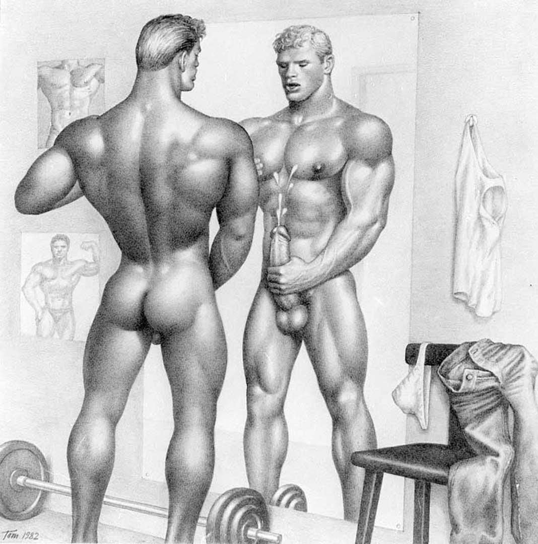 Эротика мужчины рисунки