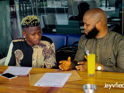 Jayvfied Inc. And The Incredible DJ Vibez seal business deal signing