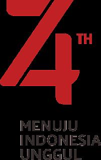 Logo Resmi Hut RI 74 - Tahun 2019 PNG TRANSPARAN