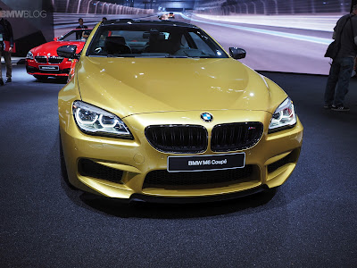 2016 BMW M6 Coupe front view
