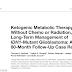 Terapia Metabólica Cetogênica, sem quimioterapia ou radiação, para a gestão a longo prazo de glioblastoma: Um Relato de caso de 80 meses de acompanhamento.