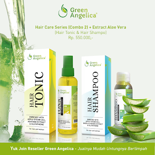 hair tonic green angelica, penumbuh rambut, obat rambut green angelica