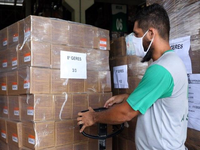 BRASIL-Covid-19: Governo de Pernambuco começa a distribuir mais de 1,5 milhão de seringas aos municípios