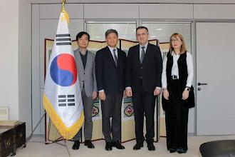 Ενδιαφέρουσα συνάντηση Κασαπίδη με τον Πρέσβυ της Κορέας κ. Soosuk.