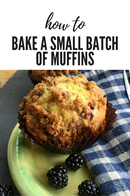How to bake a small batch of muffins - Hopton House Bed and Breakfast Shropshire
