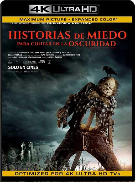 Historias de miedo para contar en la oscuridad (2019) 4K 2160p UHD [HDR] Latino [GoogleDrive]