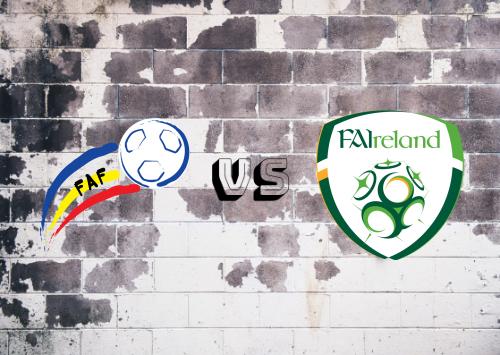 Andorra vs República de Irlanda  Resumen
