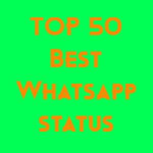 TOP 50 Best Whatsapp status In Hindi