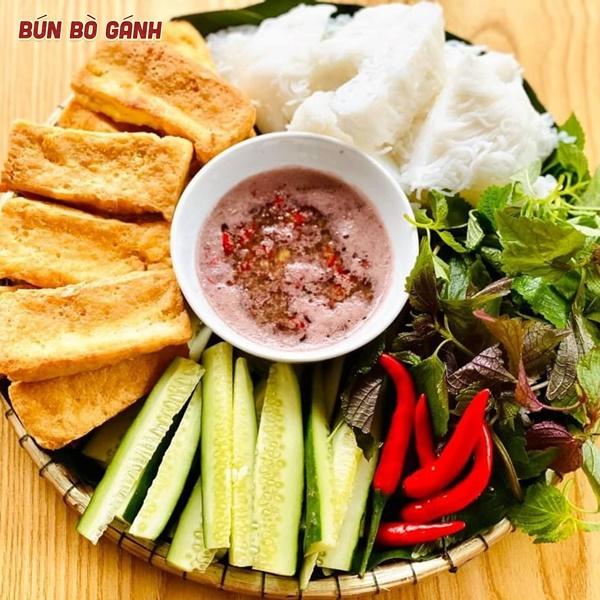 Bún Đậu Mắm Tôm -Rice Noodles with Shrimp Sauce