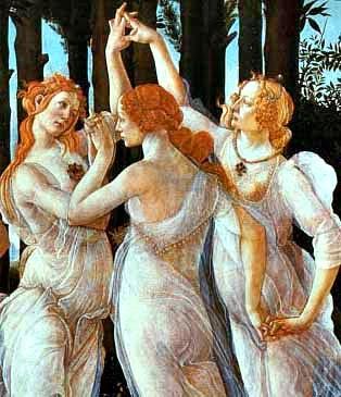 As três Graças, Botticelli, Transformação de Raven, Sylvain Reynard, Editora Arqueiro