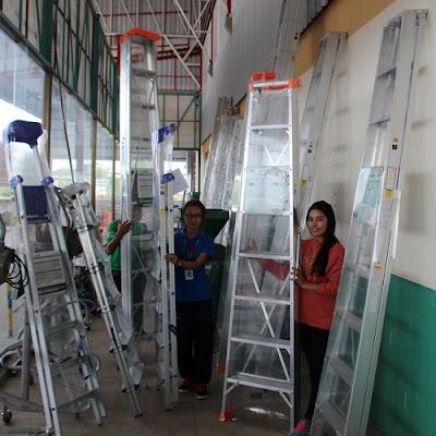 Thailand Heavy Duty Fiberglass Class USA 1A 1AA ladder delivery Thailand