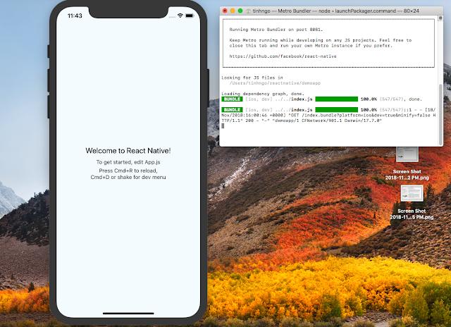 react-native run-ios