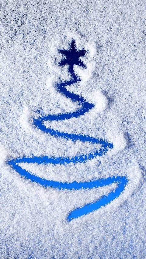 Hình Vẽ Cây Thông Trên Tuyết