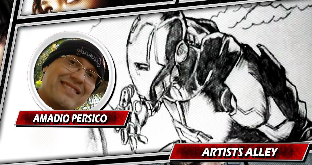 ARTISTS ALLEY | Conheça A Arte De Amadio Persico