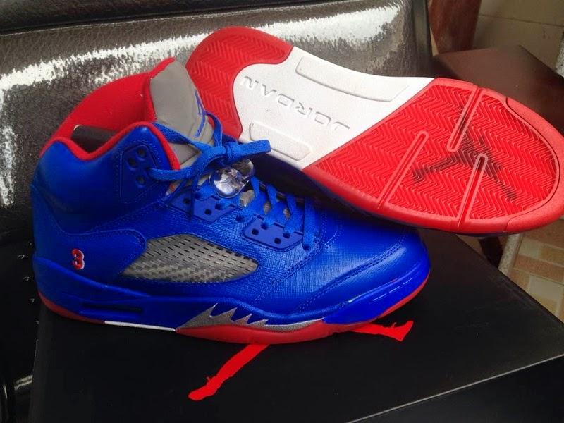 fe20b220059eef Air Jordan 5 Chris Paul PE Blue Sneaker Arrived