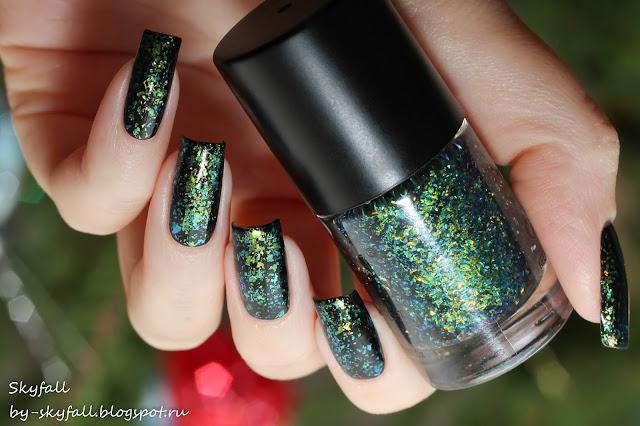 BornPretty Chameleon Nail Polish Pandora's Box Iridescent Flakies Sequins