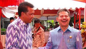 MAKASSAR- Syahrul Yasin Limpo  Menteri Pertanian RI, Gubernur Sul-Sel Ucapkan Selamat